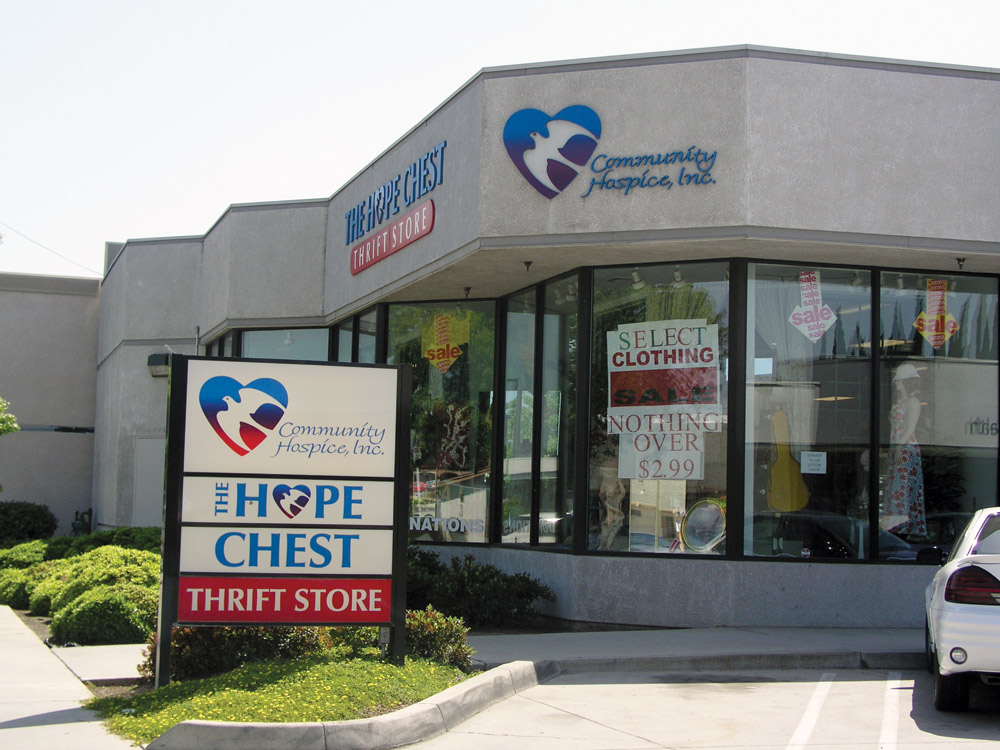 Central Modesto Hope Chest Thrift Store
