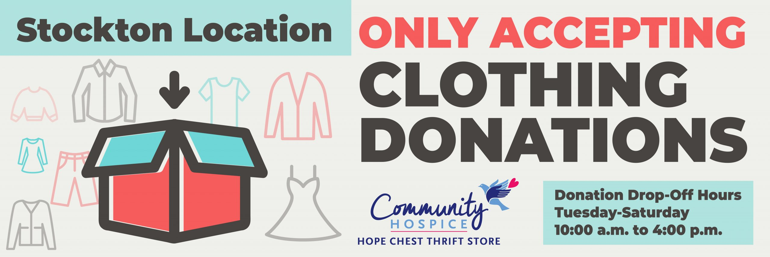 Clothing Donations Only Stockton_Carousel
